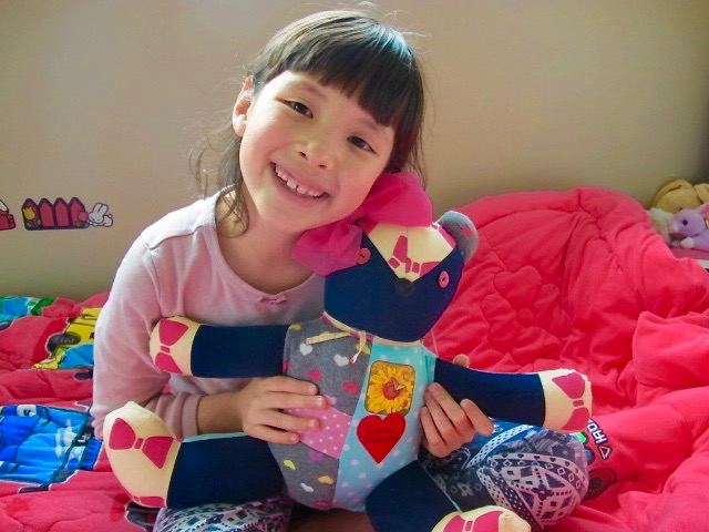 Hannah's Keepsake Teddy (1)